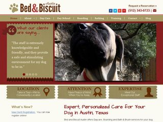Bed and Biscuit Austin | Boarding