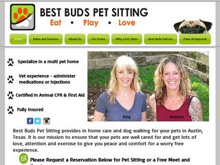 Best Buds Pet Sitting | Boarding