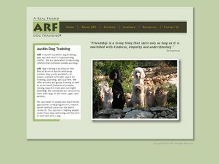 ARF Dog Training Inc.   A Real Friend Dog Training | Boarding