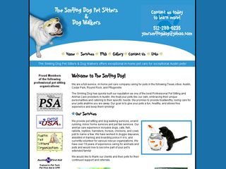 The Smiling Dog Pet Sitters  Dog Walkers | Boarding