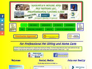 Augustas House and Pet Sitting LLC | Boarding