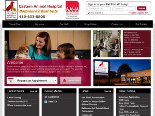 Eastern Animal Hospital Baltimore