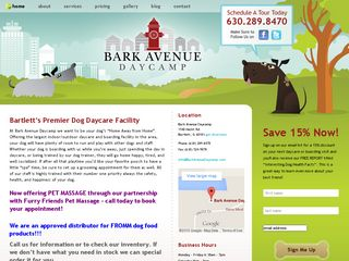Bark Avenue Daycamp Bartlett