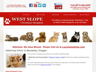 West Slope Veterinary Hospital Beaverton