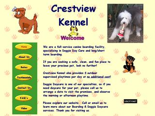 Crestview Kennel | Boarding