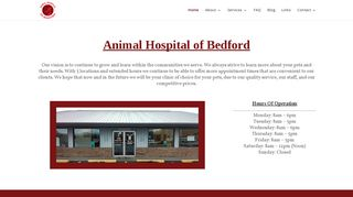 Animal Hospital of Bedford | Boarding