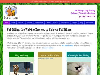 Bellevue Pet Sitters | Boarding