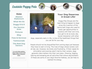 Eastside Puppy Pals | Boarding