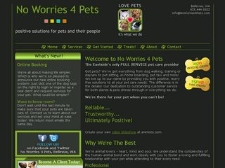 No Worries 4 Pets | Boarding
