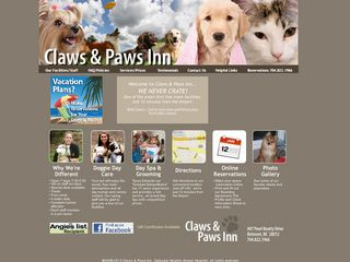 Claws   Paws Inn | Boarding