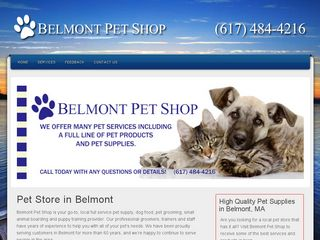 Belmont Pet Shop | Boarding