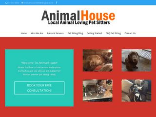Animal House Pet Sitting Services | Boarding
