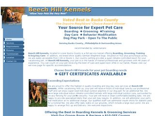 Beech Hill Kennels | Boarding