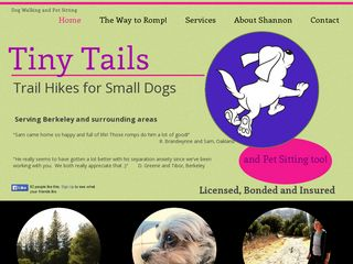 Tiny Tails on Trails Berkeley