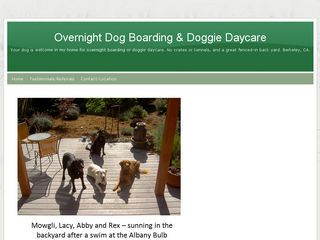 Well Loved Dogs   Overnight Boarding and Doggie Daycare Berkeley