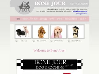 Bone Jour Pet Boutique Incorporated | Boarding