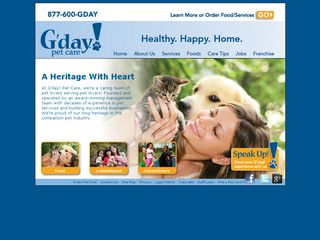 G'day Pet Care Bethesda | Boarding