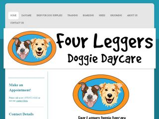 Four Leggers Doggie Daycare | Boarding