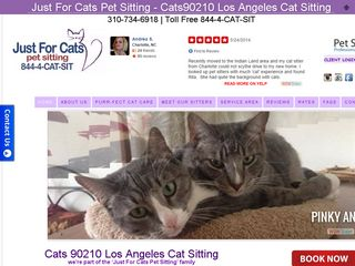 Just For Cats Pet Sitting Beverly Hills