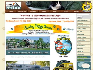 Stone Mountain Pet Lodge | Boarding