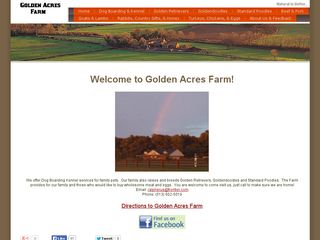 Golden Acres Farm | Boarding