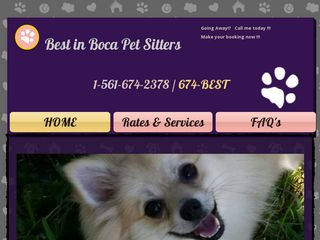 Best in Boca Pet Sitters Boca Raton