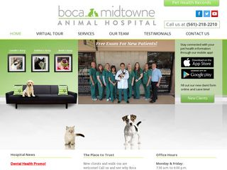 Boca Midtowne Animal Hospital Boca Raton