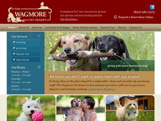 Wagmore Pet Resort Boerne