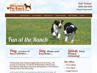 Hill Country Pet Ranch | Boarding