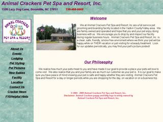Animal Crackers Pet Spa | Boarding