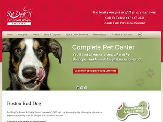 Red Dog Pet Resort & Spa Boston