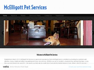 McElligott Pet Services | Boarding