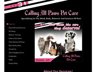 Calling All Paws Pet Care | Boarding