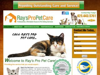Rays Pro Pet Care Bothell