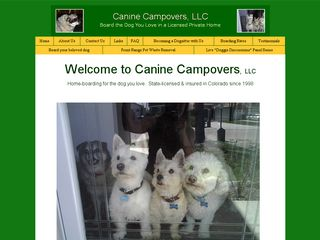 Canine Campovers LLC | Boarding