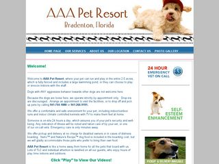 AAA Pet Resort | Boarding