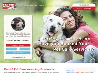 Fetch! Pet Care Bradenton | Boarding