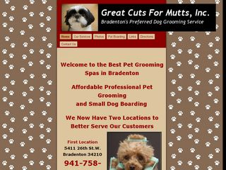 Super Cuts for Mutts | Boarding
