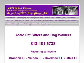 Astro Pet Sitters and Dog Walkers Brandon