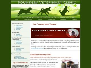 Founders Veterinary Clinic Brea