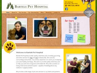 Bartels Pet Hospital Brecksville