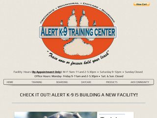 Alert K 9 Training Center | Boarding