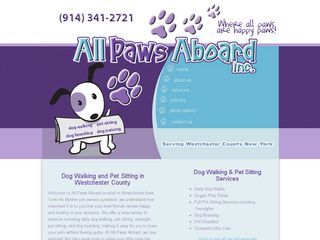 All Paws Aboard Inc | Boarding