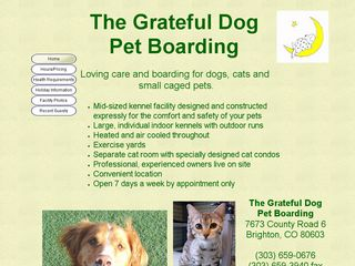 The Grateful Dog Pet Boarding | Boarding