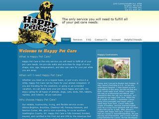 Happy Pet Care LLC | Boarding
