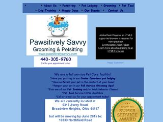 Pawsitively Savvy | Boarding