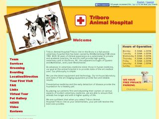 Triboro Animal Hospital Bronx