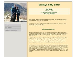 Brooklyn Kitty Sitter | Boarding