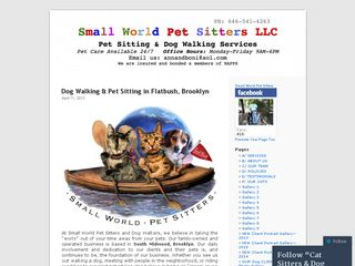 Small World Pet Sitters LLC | Boarding