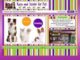 Rocco and Jezebel for Pets Grooming and Boarding Brooklyn